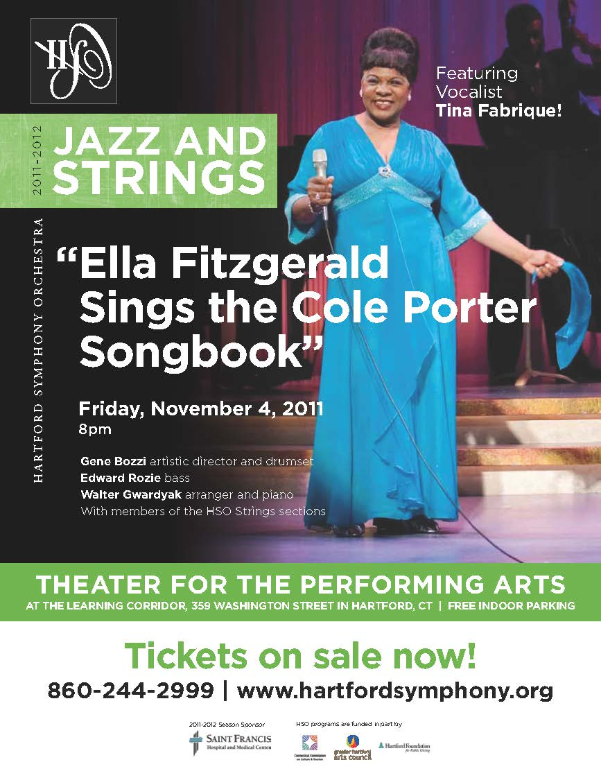 <strong>Tina Fabrique Channels Ella Fitzgerald</strong>