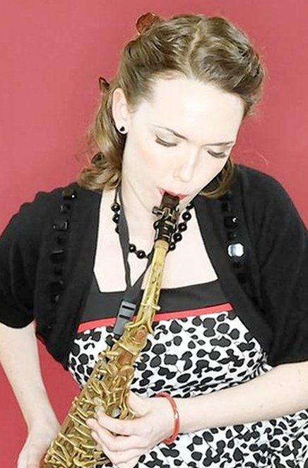 Erica von Kleist played the music of Cannonball Adderley Friday in a tribute to the sax player. (Michael Regan / March 3, 2012)