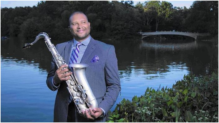 Saxophonist Jimmy Greene joins Jazz and Strings at Hartford's Infinity Hall on Nov. 29. (Jimmy Katz)